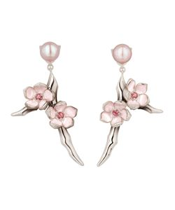 Shaun Leane | Cherry Blossom Rhodolite Earrings Womens