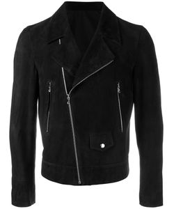 Curieux | Biker Jacket Mens Size Medium Acetate/Suede