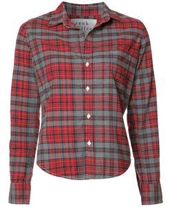 Frank & Eileen   Barry Checked Shirt Womens Size Xl Cotton