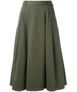 YMC | Pleat Skirt Womens Size 10 Cotton
