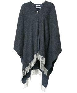 Rodebjer   Fringed Cape Womens Wool