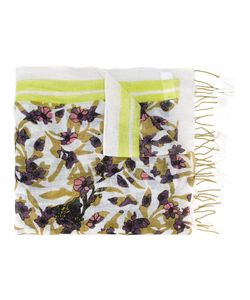Dorothee Schumacher | Multi Printed Scarf Womens Linen/Flax