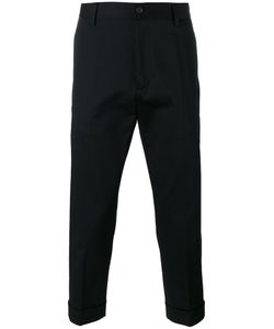 Love Moschino   Cropped Trousers Mens Size 44 Cotton/Spandex/Elastane