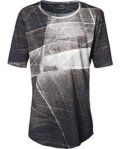 Alexandre Plokhov | Stylised Print T-Shirt Mens Size 46 Cotton