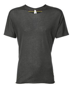 Label Under Construction | Contrast Seam T-Shirt Mens Size Large Cotton