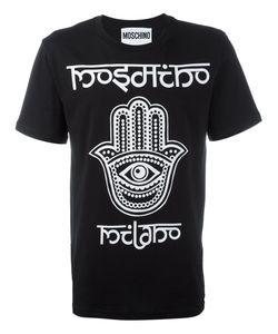 Moschino   Hamza Hand T-Shirt Mens Size Large Cotton