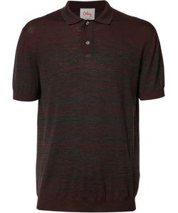 Orley | Striped Polo Shirt Mens Size Xl Merino