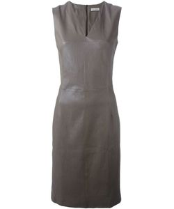Maison Ullens | Fitted Lambskin Dress
