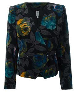 Emanuel Ungaro Vintage | Floral Jacket Womens Size 42