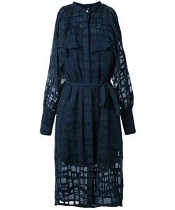 GINGER & SMART | Gravitate Cold Shoulder Dress Womens Size 12 Silk/Cotton
