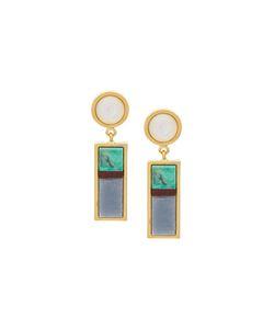 Lizzie Fortunato Jewels   Cuban Column Earrings Womens