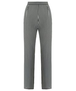 Andrea Marques | Striped Trousers Womens Size 38 Silk