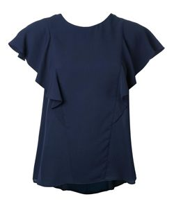 GINGER & SMART | Solar Top Womens Size 8 Silk Crepe