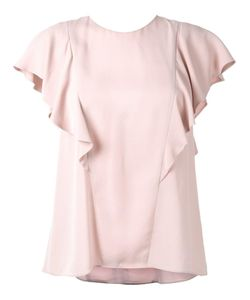 GINGER & SMART | Solar Top Womens Size 12 Silk Crepe