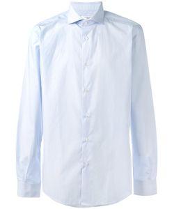 Fashion Clinic | Striped Shirt Mens Size 43 Cotton
