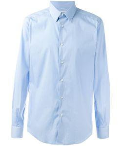Fashion Clinic | Classic Plain Shirt Mens Size 39 Cotton/Polyamide/Spandex/Elastane