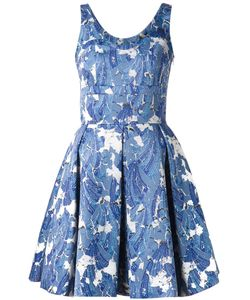 Jonathan Cohen | Pleated Print Dress
