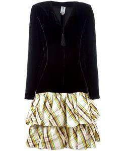 Emanuel Ungaro Vintage | Tartan Skirt Dress Womens Size 46