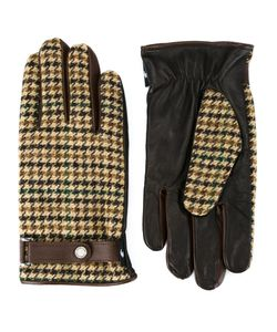 Loveless | Houndstooth Gloves Mens Wool
