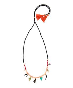 Lizzie Fortunato Jewels   Charm Cord Necklace Womens
