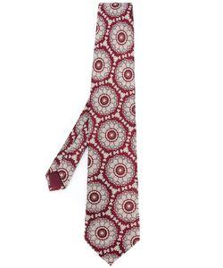 Yohji Yamamoto Vintage | Woven Pattern Tie Mens