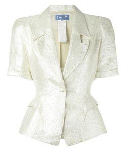 Thierry Mugler Vintage | Lurex Jacket Womens Size 36 Grey