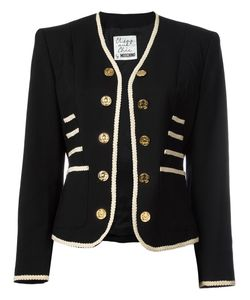 Moschino Vintage | Military Style Jacket Womens Size Small