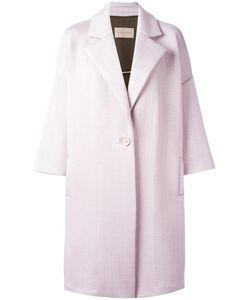 Christian Wijnants | Jeika Coat Womens Size 38 Viscose/Spandex/Elastane/Polyurethane