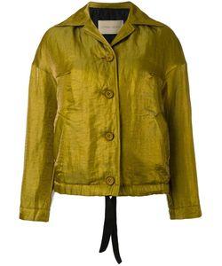 Christian Wijnants | Josie Jacket Womens Size 36 Grey Linen/Flax/Polyamide/Polyester/Acetate