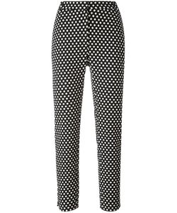 Christian Wijnants | Palm Polka Dots Trousers Womens Size 36 Cotton/Polyester/Viscose/Spandex/Elastane