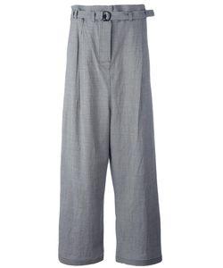 Christian Wijnants | Penny Wide-Legged Trousers Womens Size 36 Wool/Spandex/Elastane