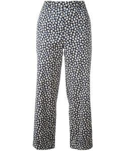 Christian Wijnants | Printed Trousers Womens Size 40 Ramie/Spandex/Elastane/Viscose