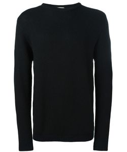 Stephan Schneider | Ribbed Crew Neck Jumper Mens Size Small Wool/Alpaca