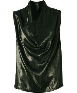 Zero + Maria Cornejo | Draped Front Blouse Womens Size 8