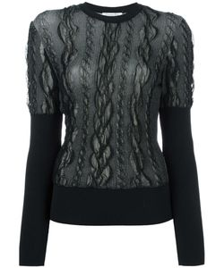 Christian Dior Vintage | Lace Overlay Jumper Womens Size Large
