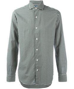 Barba | Checked Shirt Mens Size 39 Cotton