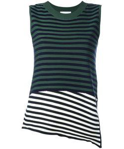 Christian Wijnants | Kaife Striped Tank Womens Size Xs Polyester/Viscose/Virgin Wool