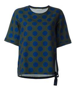 Christian Wijnants | Tami Polka Dots Sweatshirt Womens Size 40 Ramie/Spandex/Elastane/Viscose