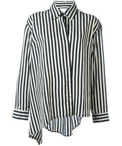 Christian Wijnants | Tal Asymmetric Shirt Womens Size 40 Polyamide/Acetate