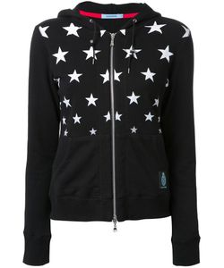 Guild Prime | Star Print Zipped Hoodie Womens Size 34 Cotton
