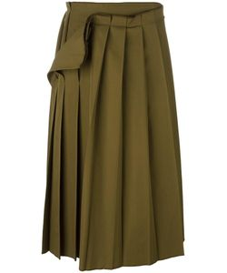 Yohji Yamamoto Vintage | Pleated Midi Skirt Womens Size 2