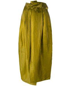 Christian Wijnants | Svel Skirt Womens Size 36 Cupro/Linen/Flax/Polyamide
