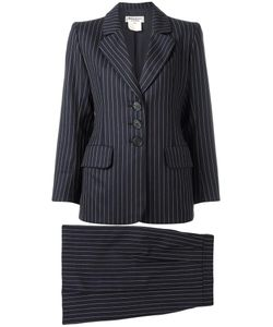 Saint Laurent | Yves Vintage Rive Gauche Pinstriped Suit Womens Size 34