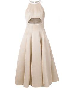 Dominic Louis | Mesh Cutout Detail Dress