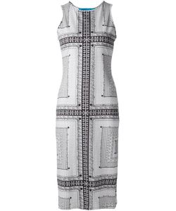 Jonathan Cohen | Printed Fitted Dress