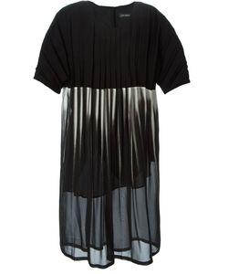 Lutz Huelle | Sheer Pleated Dress