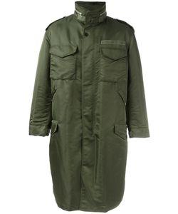 Casely-Hayford | Oversized Parka Mens Size 38 Cupro/Nylon/Polyester