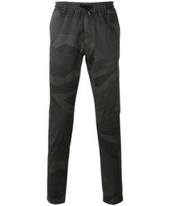 Hydrogen | Camouflage Print Trousers Mens Size 38 Cotton/Spandex/Elastane