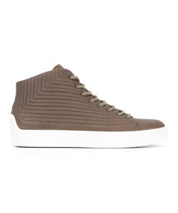 The Last Conspiracy | Tjalfe Hi-Tops Mens Size 45 Leather/Rubber