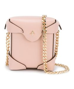 Manu Atelier | Micro Pristine Shoulder Bag Womens Leather/Cotton/Metal